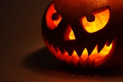 Citrouille d 39 halloween carte pour souhaiter un joyeux halloween - Model citrouille d halloween ...