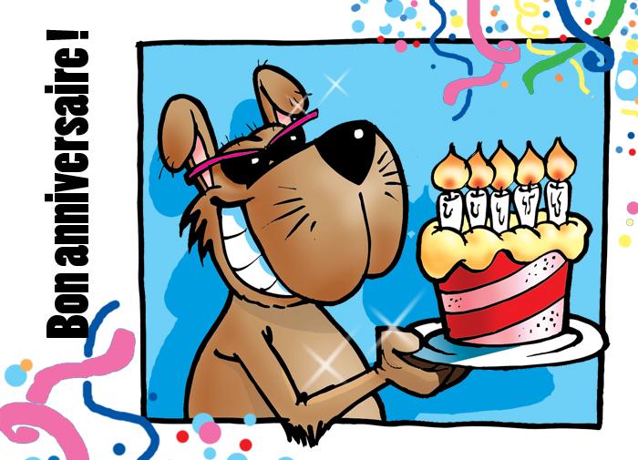 anniversaire chien texte