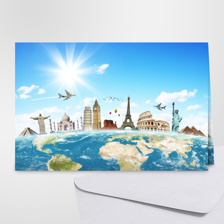 Carte bonnes vacances - Carte postale gratuite
