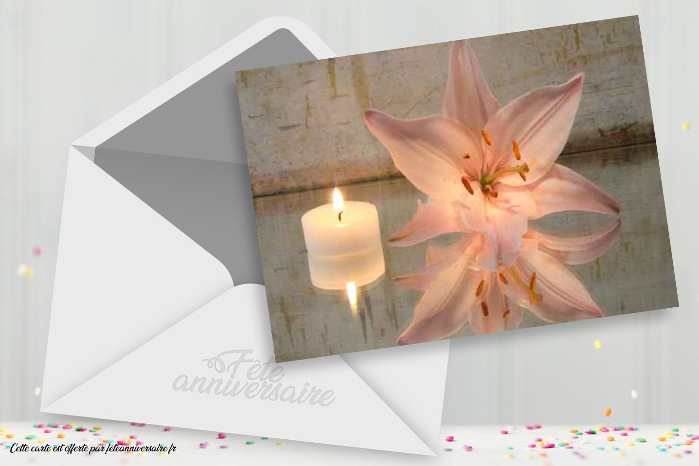 Bien-être rose - Faire-part d'invitation