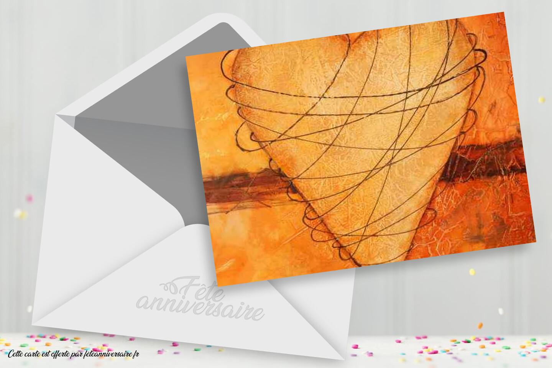 Carte coeur emprisonné - Carte gratuite sur le thème de l'amour