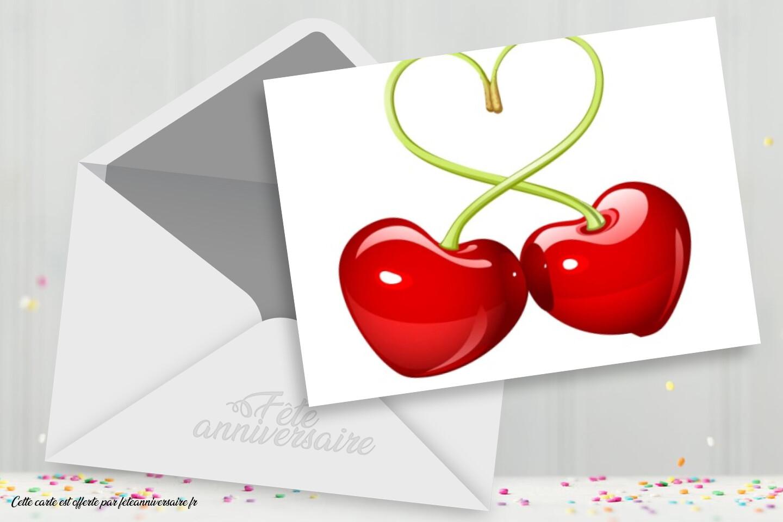 Carte d'amour : Tu es à croquer - Carte gratuite pour dire un message d'amour