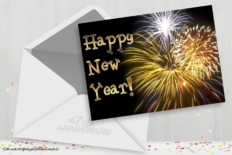 Carte Joyeuse nouvelle année 2013 !