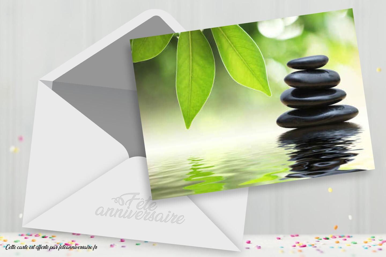 Carte Joyeux Anniversaire Zen Carte Gratuite Anniversaire Pour Tous