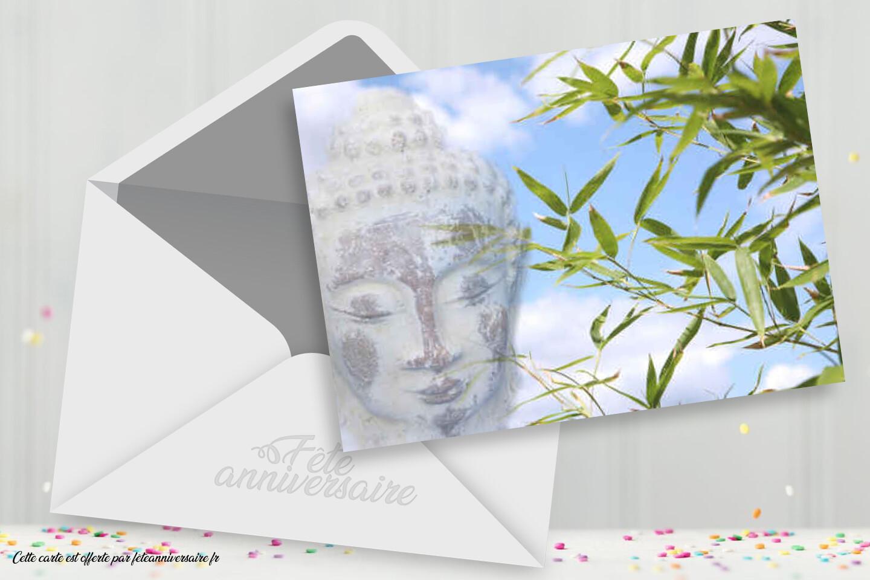 Carte virtuelle Bouddha à envoyer dans la rubrique Religion