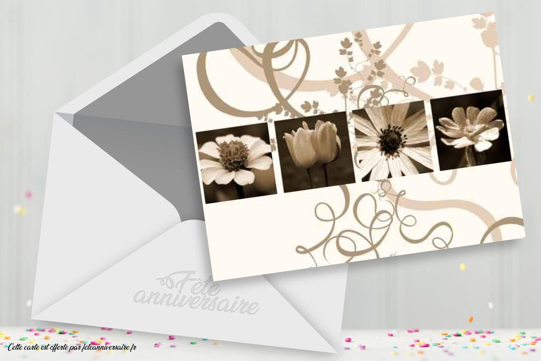 Carton d'invitation pour soirée à thème