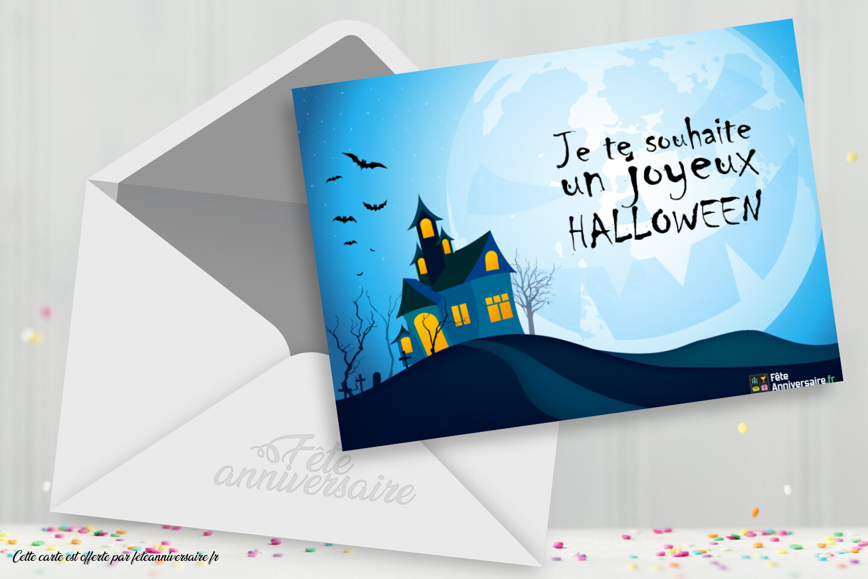 Je te souhaite un joyeux Halloween