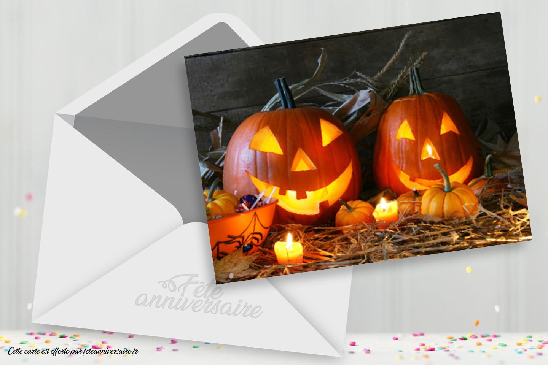 Carte Joyeux Halloween (GameCard)