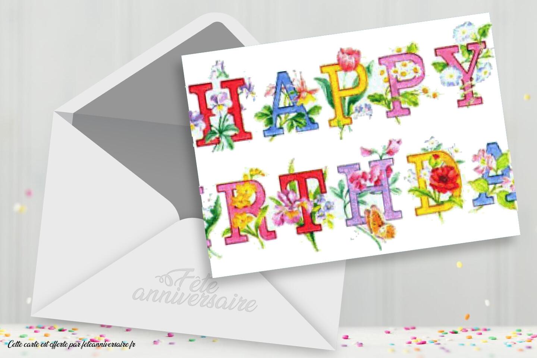 Message D Anniversaire Joyeux Anniversaire