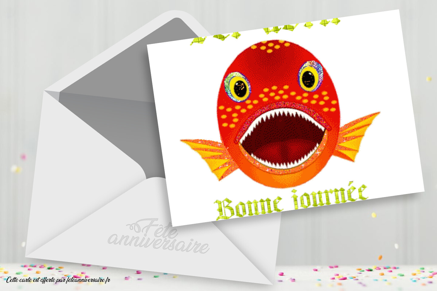 Poisson d'avril ! - Carte virtuelle 1er avril