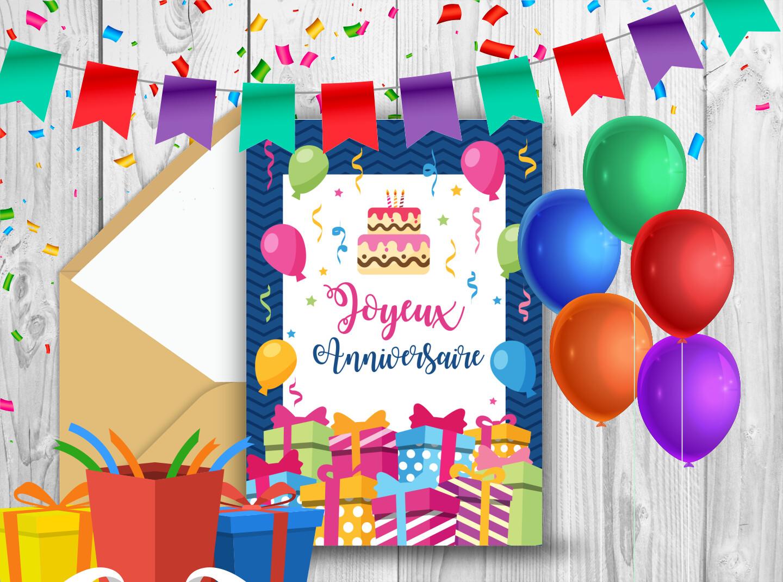 Carte pour enfant - Une séléction de Cartes d'anniversaire pour un enfant