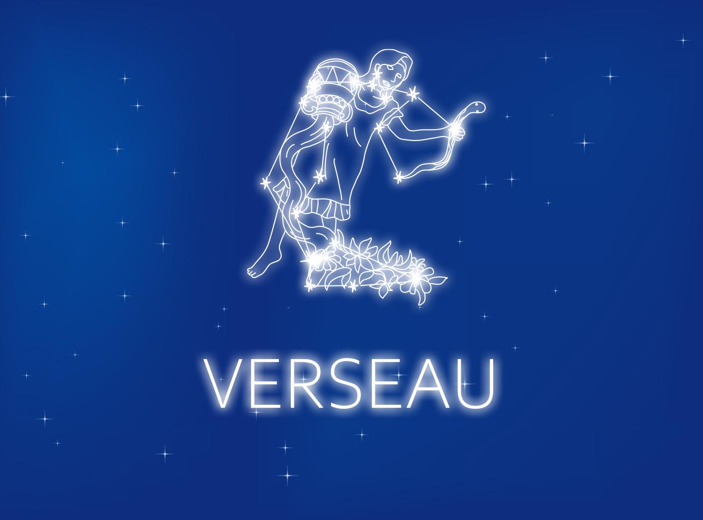 Carte du signe du zodiaque gratuite Verseau du 21 janvier au 19 février