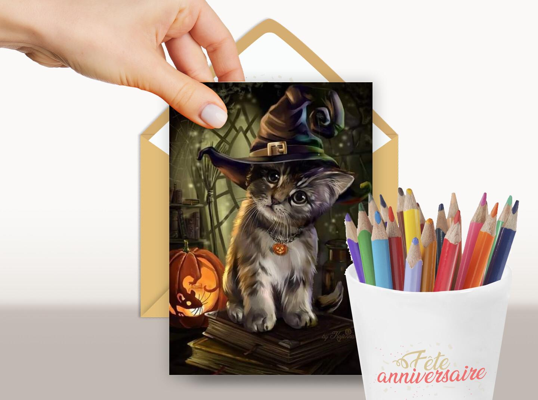 Joyeux Halloween mon petit Chat !