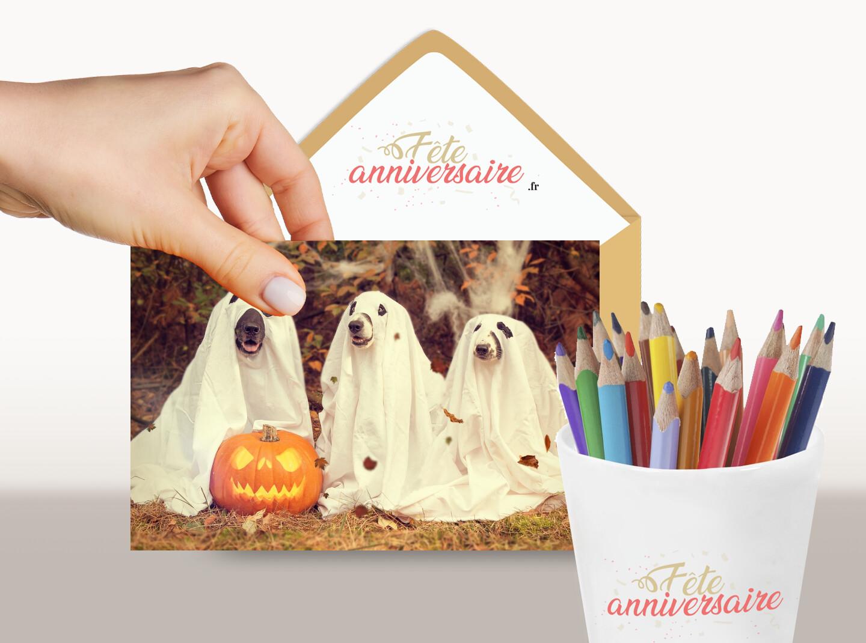 Joyeux Halloween ! Ecarte gratuite de joyeux halloween