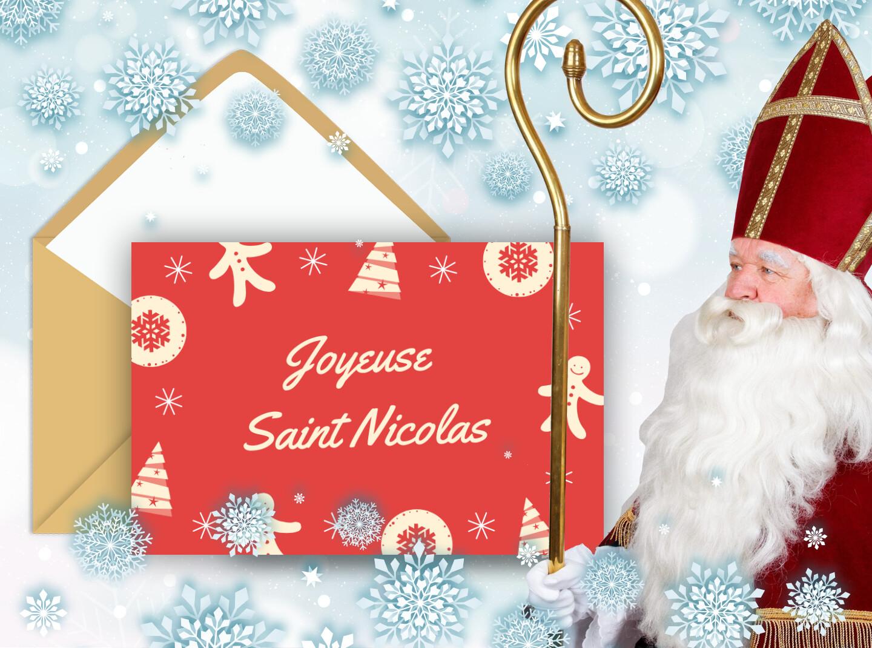 Bonne fête de Saint Nicolas ! Carte à envoyer online gratuitement !