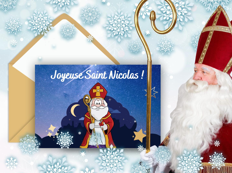 On te souhaite une bonne saint Nicolas