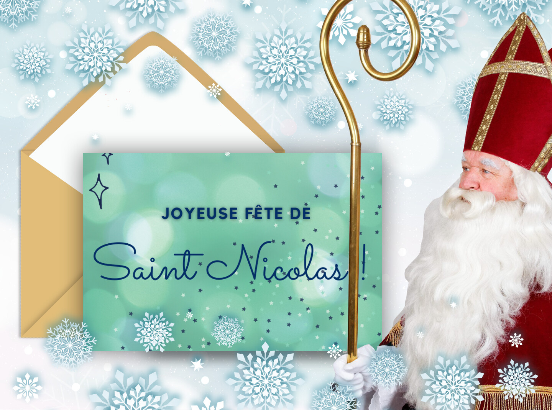 Joyeuse fête de la saint Nicolas le 6 décembre