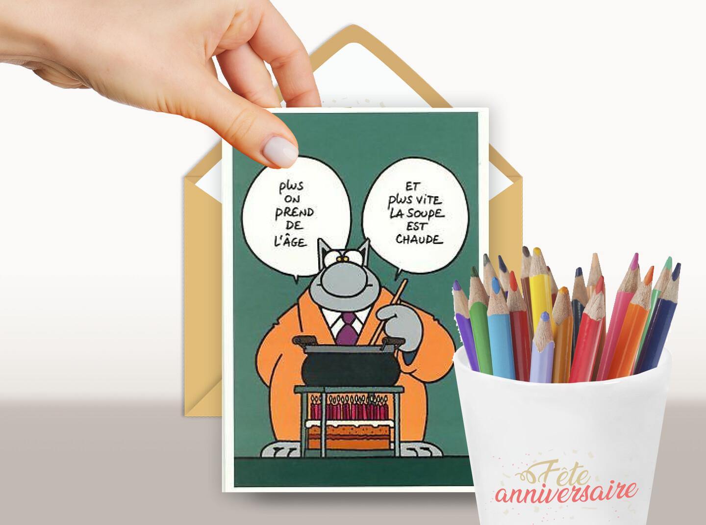 On devient vieux, mais la technique évolue !  Carte d'anniversaire humoristique à envoyer par email gratuitement.
