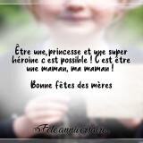 La princesse héroine