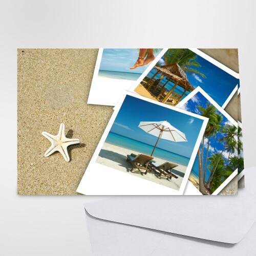 Carte postale vacances - Carte virtuelle gratuite en ligne