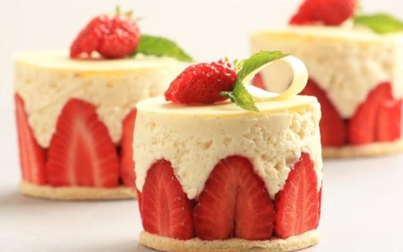 Recette du fraisier - Gâteau d'anniversaire du délicieux fraisier