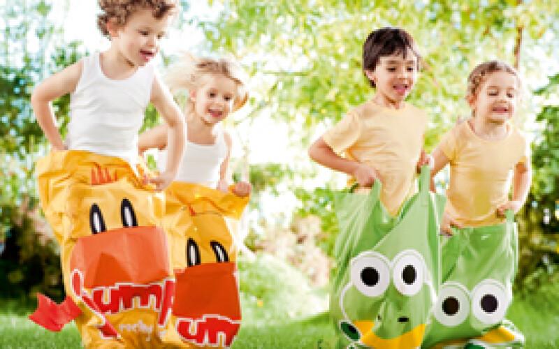 Les jeux d'extérieur - Idées de jeux anniversaire enfant à l'extérieur
