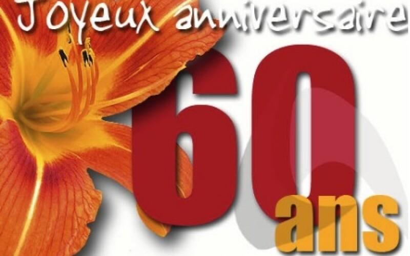 Invitation anniversaire 60 ans : Messages et textes pour anniversaire 60 ans