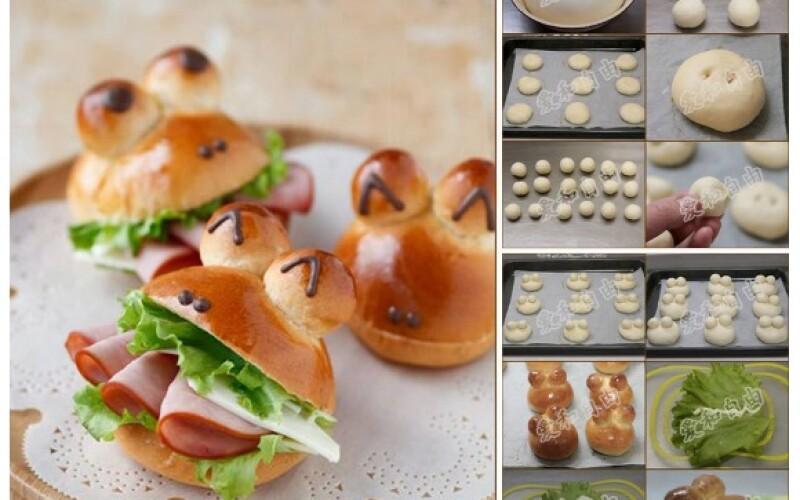 Sandwichs originaux : idées de sandwichs amusants et rigolos pour anniversaire