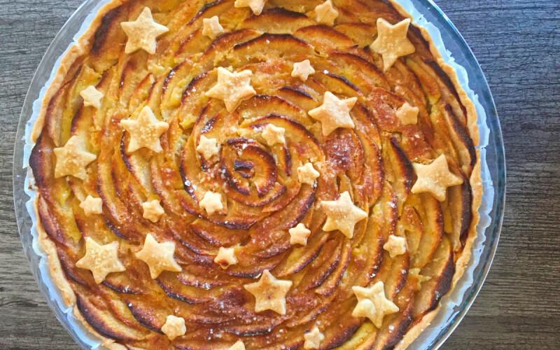 Réaliser un gâteau d'anniversaire aux pomme : Étapes par étapes