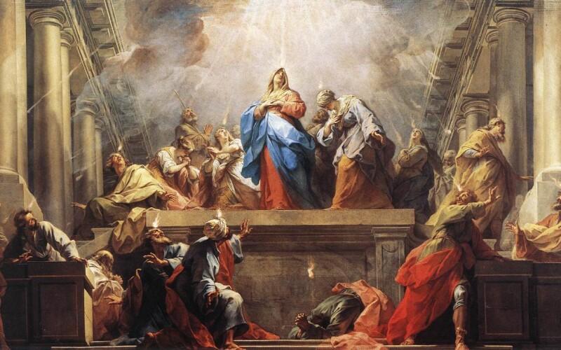 Le 27 mai 2020, c'est la fête de la pentecôte