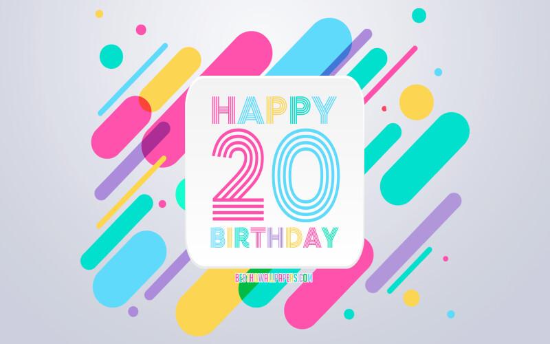 Textes anniversaire 20 ans - Texte d'anniversaire pour souhaiter les 20 ans d'une personne