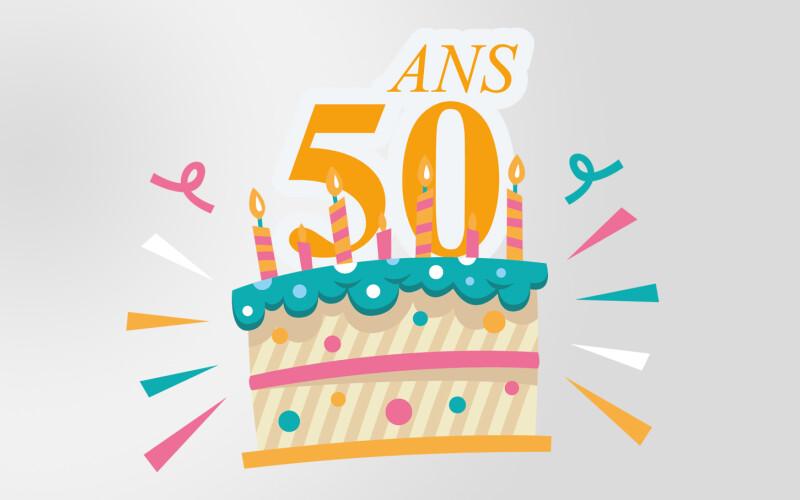 Texte anniversaire 50 ans - Meilleurs textes d'anniversaire pour les 50 ans !