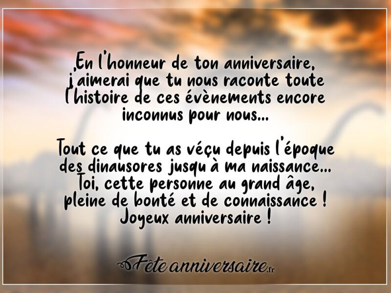 Textes D Anniversaire Humour La Connaissance Des Dinosaures