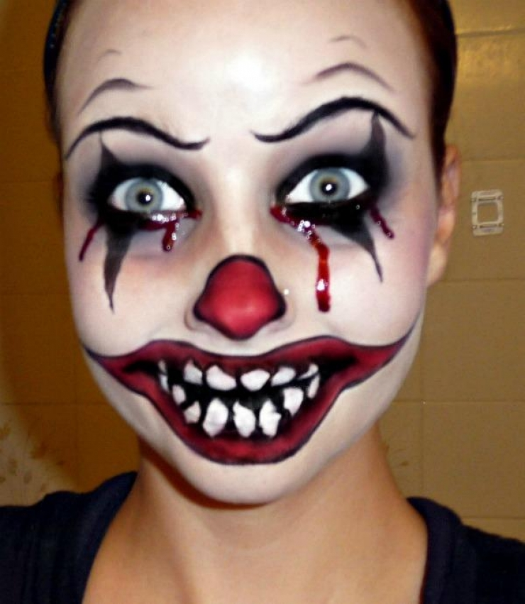 Halloween plus de 20 id es de maquillages - Image maquillage halloween ...
